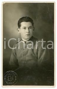 1920 ca LIVORNO - REGIO ESERCITO Ritratto di un soldato - Foto EM