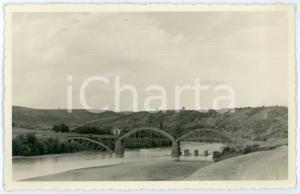 1941 WW2 GRECIA Sulla via dell'avanzata - Ponte saltata e riattivato - Foto 13x8