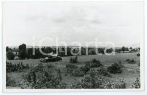 1941 WW2 - GRECIA Carrarmato greco distrutto dai tedeschi - Foto 13x 8 cm