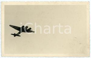 1940 ca WW2 - Campagna di Russia LUFTWAFFE Aereo tedesco in volo - Foto 13x8 cm