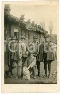1918 WW1 - PIOSSASCO - 49° Fanteria - Ritratto di soldati - Fotografia 8x13 cm