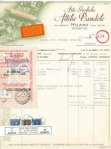 1912 GENOVA Lettera commerciale VACUUM OIL COMPANY