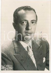 1950 CINEMA Nino TARANTO attore - Foto DI CURZIO con AUTOGRAFO