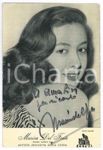 1957 Marisa DEL FRATE cantante - Foto con AUTOGRAFO 10x15 cm