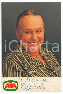 1980 ca Ave NINCHI attrice - Foto seriale AIA con AUTOGRAFO 10x15 cm