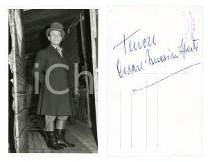 1955 ca LIRICA Tenore Cesare MASINI SPERTI - Foto con AUTOGRAFO