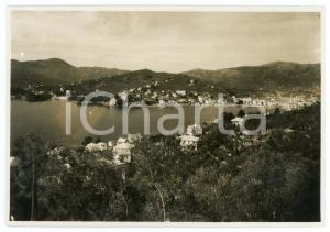 1940 ca CHIAVARI (GE) Veduta panoramica - Foto CIVICCHIONI 17x12 cm