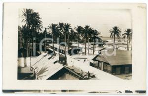 1914 BENGASI (LIBIA ITALIANA) Veduta dell'ospedale militare - Foto 14x9 cm