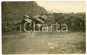 1918 (?) WW1 SERVOLA / TRIESTE - Accampamento militare italiano *Foto 14x9 cm