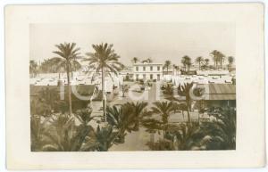 1915 ca BENGASI (LIBIA ITALIANA) Veduta dell'ospedale militare - Foto 14x9 cm