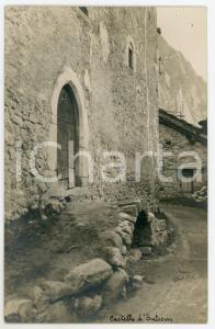 1950 ca ENTRÈVES (VALLE D'AOSTA) Casaforte Passerin d'Entrèves - Ingresso - Foto