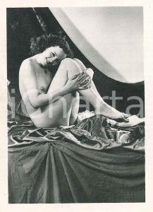 1940 ca EROTICA VINTAGE Naked lady - Photo VÉRONÈSE 6x9 cm