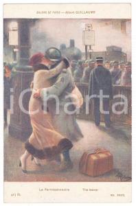 1915 ca SALON DE PARIS Albert GUILLAUME - Le permissionnaire - Postcard