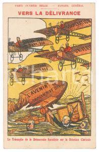 1910 ca BELGIQUE - Parti Ouvrier Belge - Vers la délivrance *Carte postale