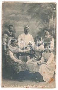 1912 FRANCE Souvenir de la soupe populaire et scolaire - Carte postale RPPC