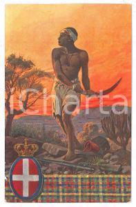 1920 ca REGIO ESERCITO Truppe coloniali - V° Battaglione indigeni d'Eritrea