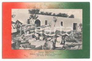 1912 GUERRA ITALO-TURCA Marinai combattono allegramente a BU MELIANA Cartolina
