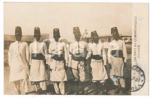 1922 ASSAB - ERITREA Soldati del Commissariato - Danachil - Cartolina FP NV