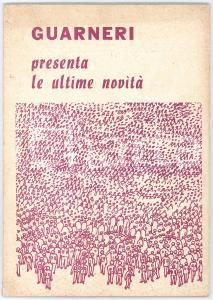 1960 ca MILANO Rubinetteria GUARNERI - Catalogo n. 44 - ILLUSTRATO