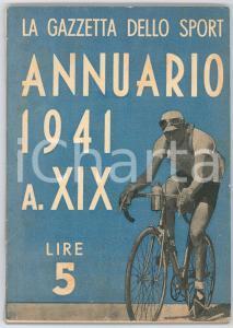 1941 LA GAZZETTA DELLO SPORT Annuario ILLUSTRATO