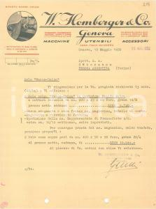 1933 FIRENZE SIDOL Company - Lucidi per metalli ed affini *Fattura
