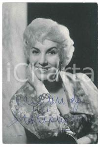 1960 ca Attrice Adriana SERRA - Foto seriale con AUTOGRAFO 10x15 cm