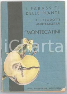 1936 Società MONTECATINI I parassiti delle piante e i prodotti antiparassitari
