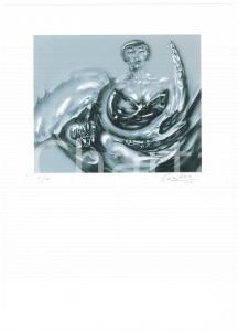 2005 Jurgen CZASCHKA - Woman - SIGNED colour print n° 4/40