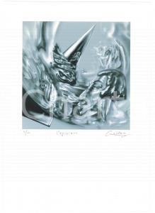 2005 Jurgen CZASCHKA - L'egiziana - SIGNED colour print n° 4/40