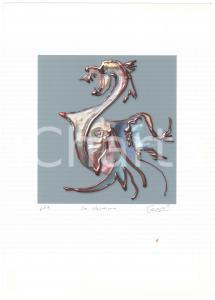 2005 Jurgen CZASCHKA - La chimera - SIGNED colour print - PROVA D'AUTORE