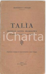 1928 Uberto FRANCHINO L'arte in Polonia - ed. CENOBIO - ILLUSTRATO