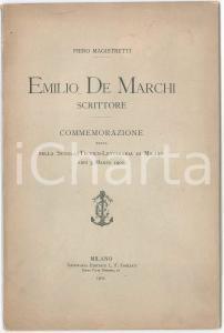 1952 MILANO Nozze d'oro Elisa ed Emilio ZANETTE *Pubblicazione ricordo 10 pp.