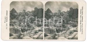 1890 ca AUSTRIA - PINZGAU Die Türkische Zeltstadt *Stereoview n° 2283