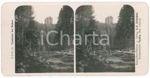 1890 ca SCHWEIZ - Talwächter bei Rathen *Stereoview n° 21