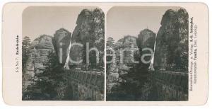 1890 ca GERMANY - Basteibrucke *VINTAGE Stereoview n°7