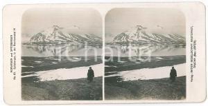 1890 ca NORWEGEN - SPITZBERGEN - ANIMATED Stereoview n° 83