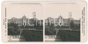 1890 ca GERMANY - MUNCHEN Maximilianeum - Stereoview n° 7240