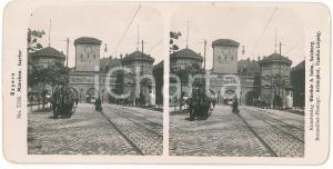 1890 ca GERMANY - MUNCHEN - Isartor - Stereoview n° 7218