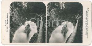 1890 ca GERMANY - BAYERN - Wimbach-Klamm - Stereoview n° 1325
