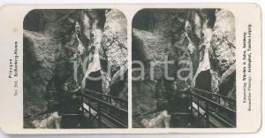 1890 ca AUSTRIA - PINZGAU - Seisenbergklamm *Stereoview n° 264