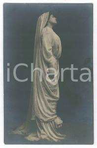 1915 ca TEATRO CLASSICO - Attrice in posa - Cartolina RPPC (2)