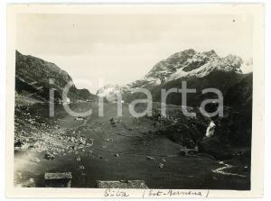 1920 ca. EITA (Est-Bernina) - Panorama di Eita - Foto 12x9