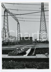 1965 VERDERIO (LC) Stazione elettrica - Foto 13x18 cm (4)