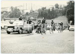 1963 CICLISMO - GIRO D'ITALIA - Una tappa - Foto 18x13 cm