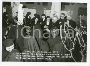 1975 VARALLO (VC) Istituto Suore Missionarie di Gesù - Mons. FRANZI (1) Foto
