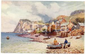 1920 ca Artist H.B. WIMBUSH - TEIGNMOUTH, DEVON - Illustrated Postcard FP NV