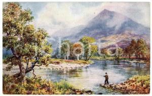 1920 ca Artist H.B. WIMBUSH Bonnie Scotland PERTHSHIRE Schiehallion - Postcard