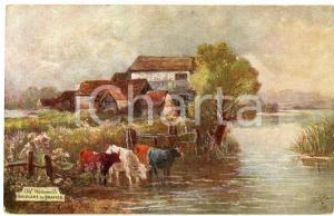 1920 ca UK - SHIPLAKE Pictoresque Thames - Old watermills - Postcard n.7714