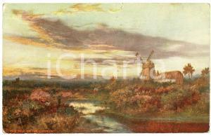 1920 ca Artist David SHERRIN The mill on the common Postcard serie HAPPY ENGLAND