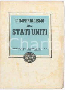 1942 CULTURA FASCISTA Le materie prime  *Libro INTONSO